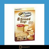 Sealapack 8 Bread Bags Keeps Loaf Fresher For Longer Two Sizes Of Bags