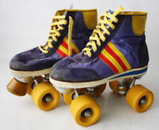 VERY RARE VINTAGE 70'S GREEK ROLLER SKATES INLINE SKATES RACER GREECE !