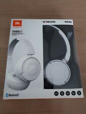 Original JBL T450BT Bluetooth On-Ear Kopfhörer mit Mikrofon Wei�Ÿ White NEU&OVP