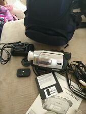 Vintage Panasonic Camcorder Pv-Dv52 And Accessories