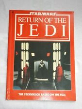 STAR WARS RETURN OF THE JEDI THE STORYBOOK-PAPERBACK-FUTURA 1983-COMPLETE-GREAT