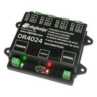 Digikeijs DR4024 Servo Decoder - Works With All DCC Brands!!  Turnouts, Switches