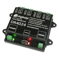 DIGIKEIJS DR4024 SERVO DECODER  - WORKS WITH ALL DCC BRANDS!!