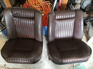 PEUGEOT 504 BUCKET SEATS very good condition