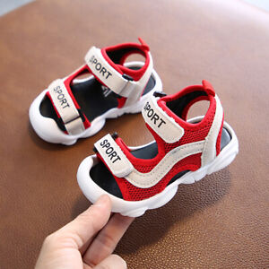Boys Child Walking Summer Sandals Baby Toddler Infant Kids Casual Outdoor Shoes