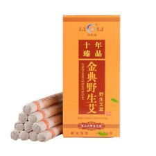 10Pcs/Box Ten Years Aging Moxa Roll Stick Moxibustion Bar Pure Moxa 18X200mm Pn
