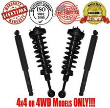 New Front Complete Struts and Rear Shocks for Ford F150 4x4 6 Studs 4x4 05-08