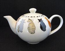 Ulster Weavers Tea Pot Cats in Waiting Bone China 4.5 Cups