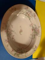 Theodore Haviland New York Apple Blossom Oval Vegetable Serving Bowl 9 3/4""