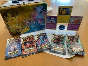 Pokemon Shining Legends open Collector's Chest Lunchbox read description