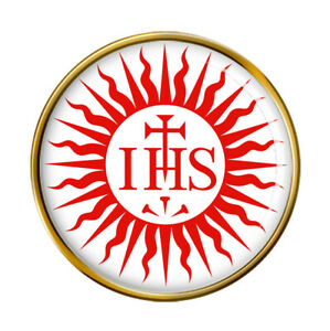 Jesuit Sun Pin Badge