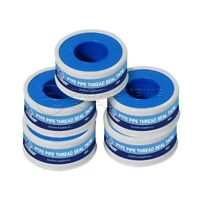 Everflow 810-5 PTFE Thread Seal Tape for Plumbers, 1/2 in. x 260 in. (5 Rolls)