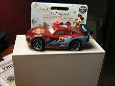 DISNEY CARS DISNEY STORE LIGHTNNG MCQUEEN LIGHT-UP SKETCHBOOK ORNAMENT