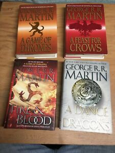 A Game Of Thrones Hardcover Lot. 3 Of 4 First Ed.