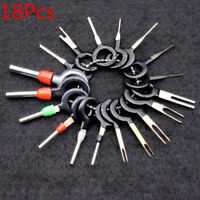 18Pcs Car Wire Terminal Removal Wiring Connector Pin Extractor Puller Tools Set