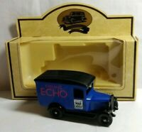 LLEDO DAYS GONE 1939 CHEVROLET DELIVERY VAN - EVENING ECHO WAR LATEST - BOXED