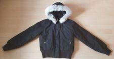 Adidas Damen Mädchen Girls Winter Jacke Gr. 36 164 S 14 Jahre RESPECT ME schwarz