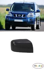 NISSAN X-TRAIL 2007 - 2014 NEW WING MIRROR COVER CAP BLACK RIGHT O/S DRIVER