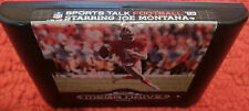 Sega Genesis. Sports Talk Football 93 Starring Joe Montana (PAL AUS/EUR)