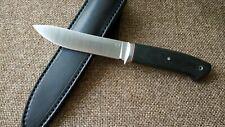 """G.Dedyukhin fixed hunting knife """"Skinner"""" CPM-3V Handmade in Bark River Style"""