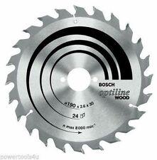 Bosch Optiline Wood circular saw blade 190 x 20/16 x 2.6 mm. 48 2608640614