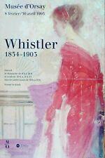 Affiche originale WHISTLER 1834-1903, 40 x 60 cm, Poster Arts