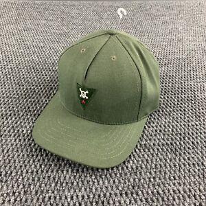 Vintage 90's Stussy Star Skull Logo Baseball Cap Snap Back Hat USA Made Skate