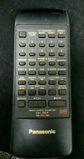 Panasonic RAK-SV012WH Remote Control for DAT Recorder/Player