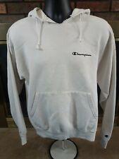 Vintage Champion Spellout Logo Hoodie Hooded Athletic Gym Sweatshirt Mens Medium