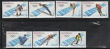 Guinea Bissau 772-78 Winter Olympic Sports Mint NH