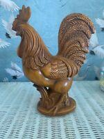 Royal Haeger Red Rooster Figurine Vintage