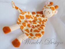 Schmusetuch Kuscheltuch Giraffe Schnuffeltuch für Mädchen Jungen mit Namen