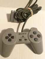 Official Sony Playstation 1 (PS1) Wired Controller (SCPH-1080) ~ Gray