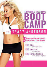 Tracy Anderson: Targeted Training Boot Camp, New DVDs