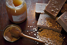 Cyril's Soap Shed Handmade Natural Goats Milk Soap with Honey and Oats