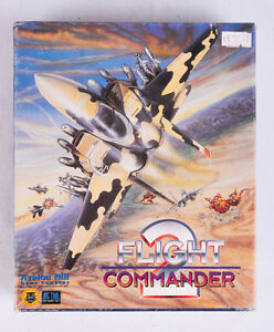 Flight Commander 2 PC Software Game Windows 10 8 7 Vista XP Install, 4 disks