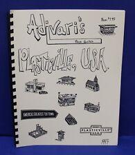 Adavaris Plasticville USA Price Guide 1993 Includes variations New