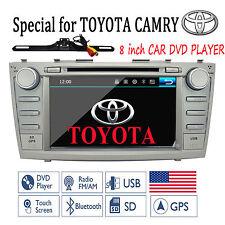 "8"" For Toyota Camry 2007-2011 GPS Navigation Car Radio Stereo DVD Player+Camera"