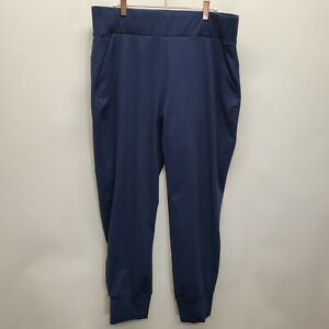 Public Rec Mens 36x28 All Day Every Day Joggers Navy Blue Nylon Travel Golf Home