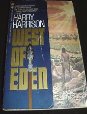 West of Eden By Harry Harrison Bantam July 1985 Paperback