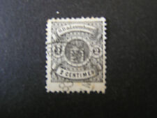 *LUXEMBOURG, SCOTT # 30, 2c. VALUE BLACK LUXEMBOURG PRINT 1875-79 ISSUE USED