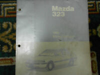 1990 Mazda 323 WIRING Diagram Electrical Service Repair Shop Manual FACTORY OEM