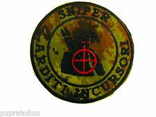 Patch Sniper Arditi Incursori Mimetica Vegetata Marina Militare Toppa b21f596f8451