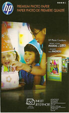 HP Premium 4 X 6 Gloss Photo Paper~With Tabs~1,000 ct--NEW~LOWER~PRICE