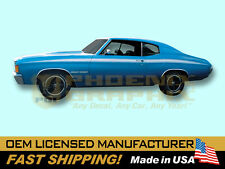 1971 1972 Chevrolet Chevelle Heavy Chevy Decals & Stripes Kit