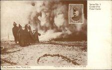 NYFD Fire Fighting New York City SCARCE Croker Series #1 c1905 Postcard