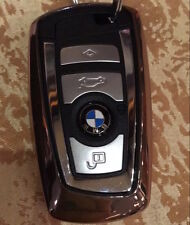 BMW 1 2 3 4 5 7 SERIES M3 M4 M5 GT X1 X3 X4 TPU shell cover case key chain BLACK