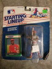 1989 Ozzie Smith Starting Lineup MOC St Louis Cardinals With Baseball Card