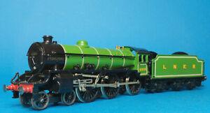 Kit built LNER BR B1 61035 Pronghorn Portescap brass white metal OO finescale