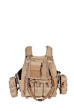 Military Carrier Outdoor Tactical Sports MOLLE Gear Combat Game Adjustable Vest